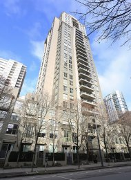 Furnished 2 Bedroom Apartment Rental at Mondrian in Downtown Vancouver. 2902 - 969 Richards Street, Vancouver, BC, Canada.