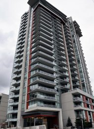 2 Bedroom Apartment Rental at Beacon in Seylynn Village in North Vancouver. 2202 - 1550 Fern Street, North Vancouver, BC, Canada.