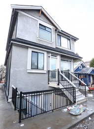 Unfurnished 1 Bedroom Basement Suite For Rent in East Hasting Vancouver. 1242 Rossland Street, Vancouver, BC, Canada.