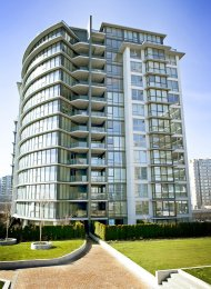 11th Floor Unfurnished 1 Bedroom Apartment Rental at Paloma in Brighouse, Richmond. 1103 - 6068 No 3 Road, Richmond, BC, Canada.