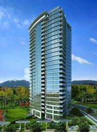Unfurnished 2 Bedroom Apartment For Rent at Watercolours in Burnaby. 2006 - 2289 Yukon Crescent, Burnaby, BC, Canada.