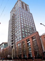 Luxury 2 Bedroom Apartment Rental at Domus in Yaletown in Vancouver. 1403 - 1055 Homer Street, Vancouver, BC, Canada.