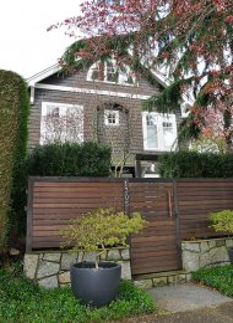 Luxury Unfurnished 2 Bedroom & Loft Half Duplex Rental in Kitsilano. 1305 Cypress Street, Vancouver, BC, Canada.