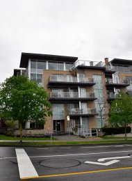 Unfurnished Studio For Rent at Alina in Central Lonsdale North Vancouver. 214 - 1288 Chesterfield Avenue, North Vancouver, BC, Canada.