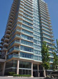 Unfurnished 1 Bedroom Apartment For Rent at Affinity in Burnaby. 606 - 2200 Douglas Road, Burnaby, BC, Canada.