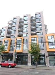 Fully Furnished 1 Bedroom Apartment For Rent at Citti in Mount Pleasant. 805 - 238 West Broadway, Vancouver, BC, Canada.