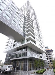 Wall Centre Central Park 1 Bedroom Apartment Rental in East Vancouver. 755 - 5515 Boundary Road, Vancouver, BC, Canada.