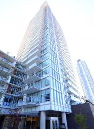 Unfurnished 1 Bedroom Apartment For Rent at MC2 in South Vancouver. 2106 - 8131 Nunavut Lane, Vancouver, BC, Canada.