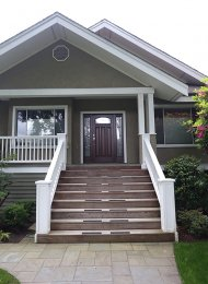 Unfurnished 2 Bedroom Garden Suite Rental With Private Entrance in Kerrisdale, Westside Vancouver. 2716 West 38th Avenue, Vancouver, BC, Canada.
