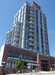 Unfurnished 2 Bedroom Apartment For Rent at The 258 in New Westminster. 1001 - 258 Sixth Street, New Westminster, BC, Canada.