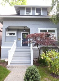 Unfurnished 2 Bedroom Basement Suite For Rent in East Vancouver. 43 East 45th Avenue, Vancouver, BC, Canada.