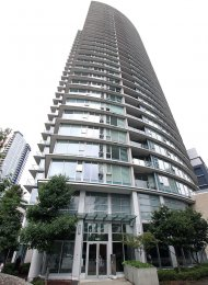 Fully Furnished 2 Bed Apartment Rental at Espana in Downtown Vancouver. 3201 - 689 Abbott Street, Vancouver, BC, Canada.