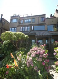 Fully Furnished Luxury Townhouse Rental at Heather Point in False Creek. 822 Millbank, Vancouver, BC, Canada.