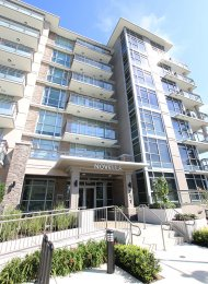 Novella Modern 3rd Floor Unfurnished 1 Bedroom Apartment For Rent in Coquitlam. 306 - 711 Breslay Street, Coquitlam, BC, Canada.