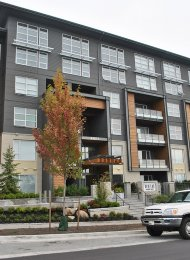 Unfurnished 2 Bedroom Apartment Rental at Veritas at SFU in Burnaby. 209 - 9877 University Crescent, Burnaby, BC, Canada.