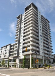 Unfurnished 1 Bedroom Apartment Rental at Centreblock at SFU in Burnaby. 1305 - 9393 Tower Road, Burnaby, BC, Canada.