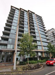 Fully Furnished 1 Bedroom Apartment Rental at James at The Olympic Village. 1211 - 288 West 1st Avenue, Vancouver, BC, Canada.