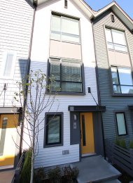 Unfurnished 2 Bed Townhouse Rental at Fremont Indigo in Port Coquitlam. 6 - 2371 Ranger Lane, Port Coquiltlam, BC, Canada.