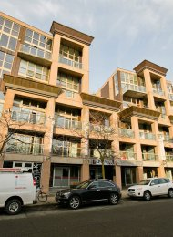 Unfurnished Live / Work 1 Bedroom Loft Rental at WSIX in South Granville. 403 - 1529 West 6th Avenue, Vancouver, BC, Canada.