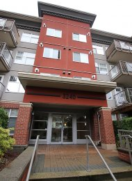 Unfurnished 1 Bed Apartment Rental at The Square in Port Moody Centre. 101 - 3240 Saint Johns Street, Port Moody, BC, Canada.