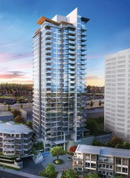 Unfurnished 2 Bedroom Apartment Rental at Crown in Coquitlam. 2509 - 520 Como Lake Avenue, Coquitlam, BC, Canada.