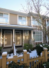 Unfurnished 4 Bedroom Townhouse Rental in Marpole Westside Vancouver. 966 Westbury Walk, Vancouver, BC, Canada.