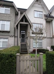 Barrington Walk Unfurnished Four Bedroom Townhouse Rental in Richmond. 98 - 7288 Heather Street, Richmond, BC, Canada.