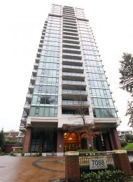 Modern 1 Bedroom Apartment Rental at Park 360 in Edmonds Burnaby. 1606 - 7088 18th Avenue, Burnaby, BC, Canada.