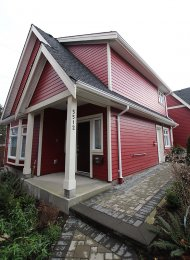 Bright and Modern 3 Bedroom House Rental in Collingwood East Vancouver. 5512 Dundee Street, Vancouver, BC, Canada.