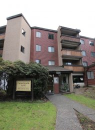 Unfurnished 1 Bedroom Apartment For Rent at Chancellor Gate in Richmond. 316 - 8640 Citation Drive, Richmond, BC, Canada.