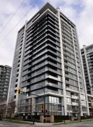 Unfurnished 1 Bedroom Apartment Rental at Vista Place in Lower Lonsdale. 808 - 1320 Chesterfield Avenue, North Vancouver, BC, Canada.