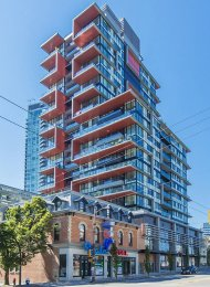 Unfurnished 1 Bed Apartment For Rent at The Rolston in Downtown Vancouver. 1210 - 1325 Rolston Street, Vancouver, BC, Canada.