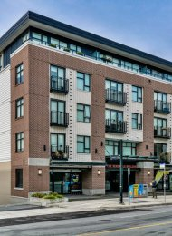 Unfurnished 2 Bed Apartment Rental at The Versatile Building in Lower Lonsdale. 312 - 111 East 3rd Street, North Vancouver, BC, Canada.