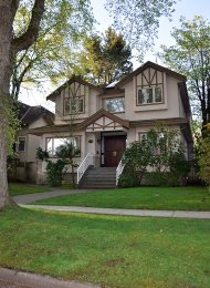 5 Bedroom Unfurnished House For Rent in Dunbar in Westside Vancouver. 3250 West 24th Avenue, Vancouver, BC, Canada.