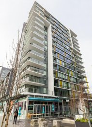 Luxury 2 Bedroom Apartment Rental at Tower Green at West at The Olympic Village. 805 - 159 West 2nd Avenue, Vancouver, BC, Canada.
