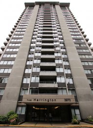 The Harrington Unfurnished 2 Bedroom Apartment Rental in Lougheed Burnaby. 808 - 3970 Carrigan Court, Burnaby, BC, Canada.