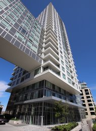 Unfurnished 2 Bedroom Apartment Rental at Wall Centre Central Park in East Vancouver. 1607 - 5515 Boundary Road, Vancouver, BC, Canada.