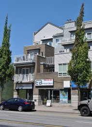 Unfurnished 1 Bedroom Apartment For Rent at Sienna in Burnaby Heights. 304 - 3939 Hastings Street, Burnaby, BC, Canada.