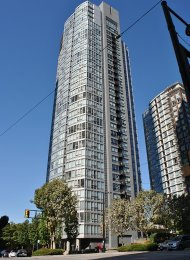 Luxury Unfurnished 1 Bedroom Apartment Rental at Azura in Yaletown. 306 - 1495 Richards Street, Vancouver, BC, Canada.