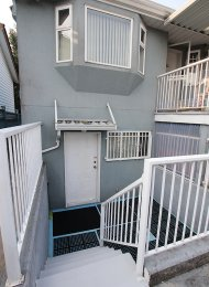 1 Bedroom Unfurnished Basement Suite Rental in Hastings East Vancouver. 2947 East 4th Avenue, Vancouver, BC, Canada.