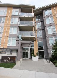 Brand New Apartment For Rent at Rhythm at River District in South Vancouver. 412 - 3263 Pierview Crescent, Vancouver, BC, Canada.