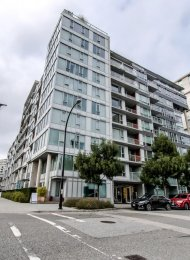 1 Bedroom Unfurnished Apartment For Rent at Pinnacle Living at The Olympic Village. 304 - 1887 Crowe Street, Vancouver, BC, Canada.