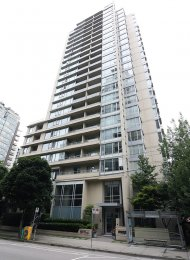 Unfurnished 1 Bedroom & Den Apartment For Rent at Miro in Yaletown. 2210 - 1001 Richards Street, Vancouver, BC, Canada.