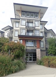 Modern 3rd Floor 1 Bedroom Unfurnished Apartment For Rent at The Edge in Maple Ridge. 311 - 12075 Edge Street, Maple Ridge, BC, Canada.
