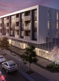 Modern Unfurnished 2 Bedroom Apartment For Rent at Pixel in Edmonds, Burnaby. 309 - 6283 Kingsway, Burnaby, BC, Canada.