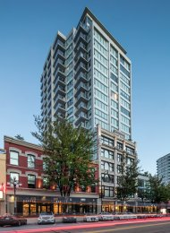 1 Bedroom Loft Style Apartment For Rent at Trapp + Holbrook in New Westminster. 307 - 668 Columbia Street, New Westminster, BC, Canada.