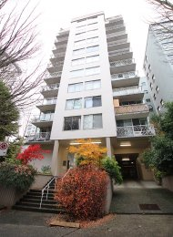 1 Bedroom Fully Furnished Apartment For Rent at The Chelsea in Vancouver's West End. 301 - 1219 Harwood Street, Vancouver, BC, Canada.