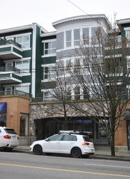 Unfurnished 2 Bedroom Penthouse For Rent at The Star of Kitsilano in Westside Vancouver. PH13 - 2680 West 4th Avenue, Vancouver, BC, Canada.