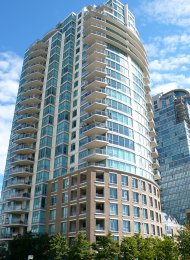 Unfurnished 2 Bedroom Apartment Rental at The Brighton in Southeast False Creek. 403 - 120 Milross Avenue, Vancouver, BC, Canada.