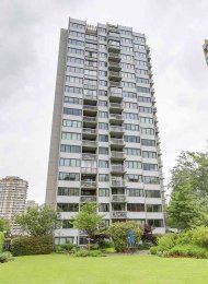 1 Bedroom Apartment Rental in Vancouver's West End at The Sandpiper. 604 - 1740 Comox Street, Vancouver, BC, Canada.